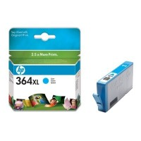 HP 364XL Cyan Ink Cartridge with Vivera Ink (CB323EE)