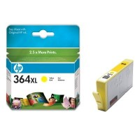 HP 364XL Yellow Ink Cartridge with Vivera Ink (CB325EE)