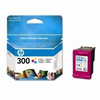 HP 300 Tri-color Ink Cartridge (CC643EE)