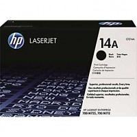 HP 14A Black LaserJet Toner Cartridge (CF214A)