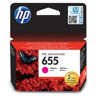 HP 655 Magenta Ink Cartridge (CZ111AE)