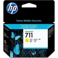 HP 711 29-ml Yellow Ink Cartridge (CZ132A)