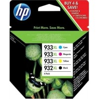 HP 932XL Black/933XL Cyan/Magenta/Yellow 4-pack (C2P42AE)