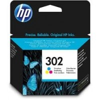 HP 302 Tri color ink cartridge za 165 stani (F6U65AE)
