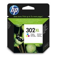 HP 302XL Tri color ink cartridge za 330 strani (F6U67AE)