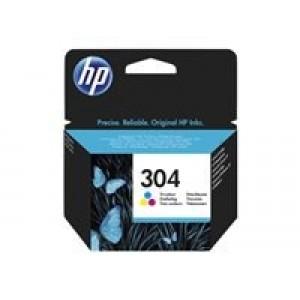 HP 304 Tri-color Ink Cartridge za 100 strani (N9K05AE)