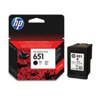 HP 651 Black Ink Cartridge (C2P10AE)