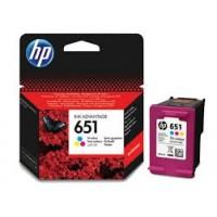 HP 651 Tri-colour Ink Cartridge (C2P11AE)