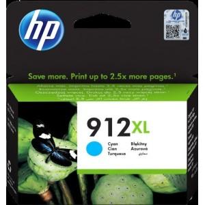 HP 912XL Cyan zaOJ 801X/802X za 825 strani (3YL81AE)