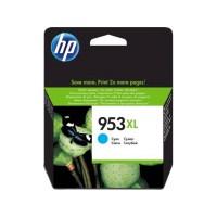 HP 953XL High Yield Cyan Original Ink Cartridge (F6U16AE)