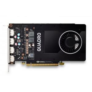 HP NVIDIA Quadro P2200 5GB 4xDP GFX (6YT67AA)