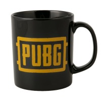 JINX PUBG LOGO MUG BLACK/ORANGE