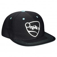 JINX ROCKET LEAGUE BLUE TEAM SNAP BACK HAT - BLACK
