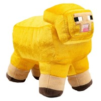 MINECRAFT ADVENTURE GOLD SHEEP PLIŠ - LIMITED EDITION