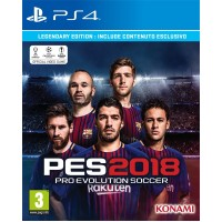 Pro Evolution Soccer 2018 Legendary Edition (playstation 4)
