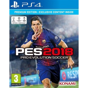 Pro Evolution Soccer 2018 (playstation 4)