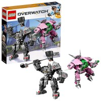 LEGO KOCKE OVERWATCH D.VA & REINHARDT