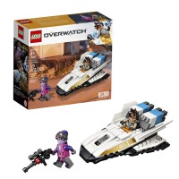 LEGO KOCKE OVERWATCH TRACER VS. WIDOWMAKER