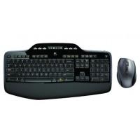 Tipkovnica in miška Logitech Cordless Desktop MK710, SLO g. (920-002440)