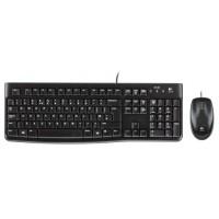 Tipkovnica in miška Logitech Desktop MK120, USB, SLO (920-002549)