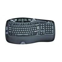 Tipkovnica Logitech Wireless Keyboard K350 Wave, Unifying, SLO g. OEM (920-004483)