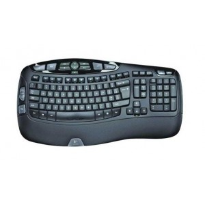 Tipkovnica Logitech Wireless Keyboard K350 Wave, Unifying, SLO g. OEM (920-004483)