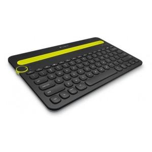 Tipkovnica Logitech K480 Multi-Device, črna, SLO g. (920-006366)