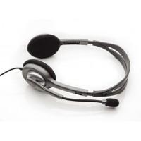 Slušalke Logitech H110, stereo (981-000271)