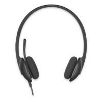 Slušalke Logitech H340, stereo, USB (981-000475)