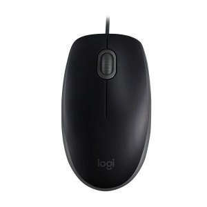 Miška Logitech B110 Silent, črna (910-005508)