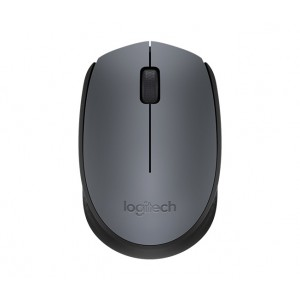 Miška Logitech M170 Wireless, siva (910-004642)
