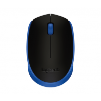Miška Logitech M171 Wireless, modra (910-004640)