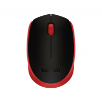 Miška Logitech M171 Wireless, rdeča (910-004641)