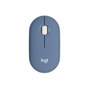 Miška Logitech Pebble M350 Wireless, modra (910-005719)