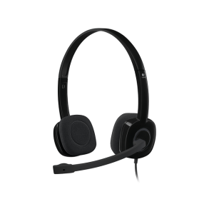 Slušalke Logitech H151, črne, stereo (981-000589)