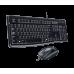 Tipkovnica in miška Logitech Desktop MK120, USB, US (920-002563)