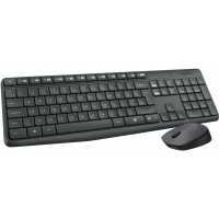 Tipkovnica in miška Logitech Wireless Combo MK235, US (920-007931)