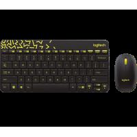 Tipkovnica in miška Logitech Wireless Combo MK240 NANO, SLO (920-008383)
