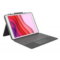 Tipkovnica Logitech Combo Touch za iPad (7. in 8. gen.), SLO g. (920-009629)