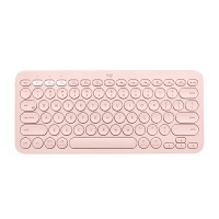 Tipkovnica Logitech K380 Multi-Device, roza, SLO g. (920-009867)