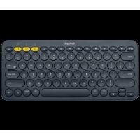 Tipkovnica Logitech K380 Multi-Device, temno siva, SLO g. (920-007582)