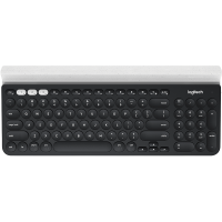 Tipkovnica Logitech K780 Multi-Device, Wireless, siva/bela, SLO g. (920-008042)