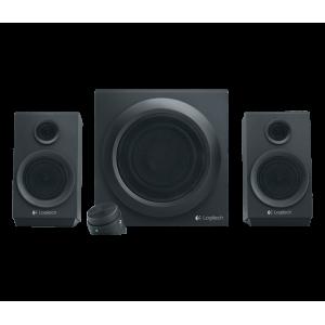 Zvočniki Logitech Z333 2.1, 40W RMS, črni (980-001202)