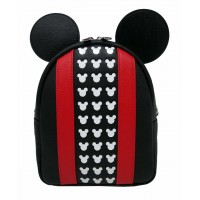 LOUNGEFLY DISNEY MICKEY APPLIQUE AND DEBOSSED DETAIL BACKPACK