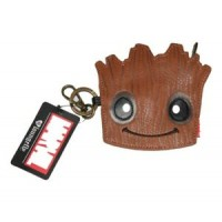 LOUNGEFLY MARVEL GROOT FACE COIN BAG