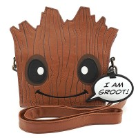 LOUNGEFLY MARVEL GROOT FACE XBODY