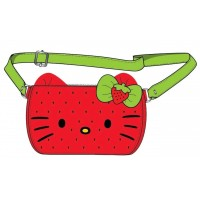 LOUNGEFLY X HELLO KITTY WATERMELON MINI BACKPACK