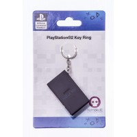 MERCHENDISE OFFICIAL PLAYSTATION 2 PS2 CONSOLE KEYRING NUMSKULL