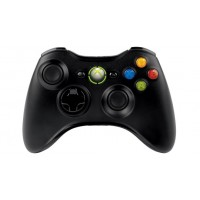 Xbox360 Wrls CommonCntrlr Win USB Port Hdwr Black (MSHW67)