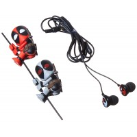 NECA SCALERS-2 CHARACTERS-EARBUDS DEADPOOL & X FORCE DEADPOOL